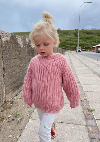 Bilde av September Sweater Junior - oppskrift