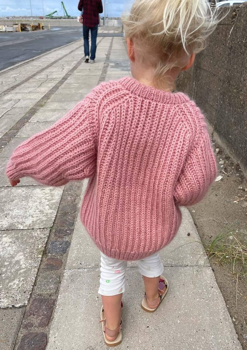 September Sweater Junior - oppskrift